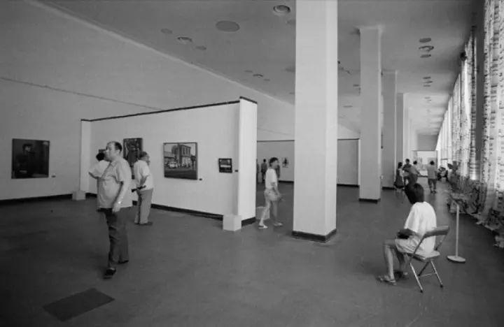 新生代艺术展,展览现场,1991年
