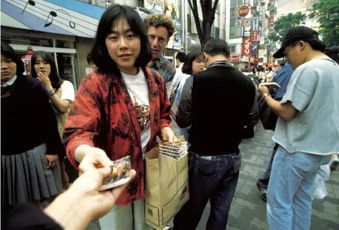 """""""新宿少年艺术"""",福田美兰作品,1994 年,摄影:中村政人"""