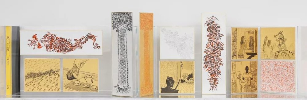 耶苏,《假山海》,2017-2018年,绘画、装置