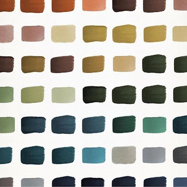 Color therapy via interior designer @lauren_martin_moro 🙂 #colorpallette #designinspo #mood