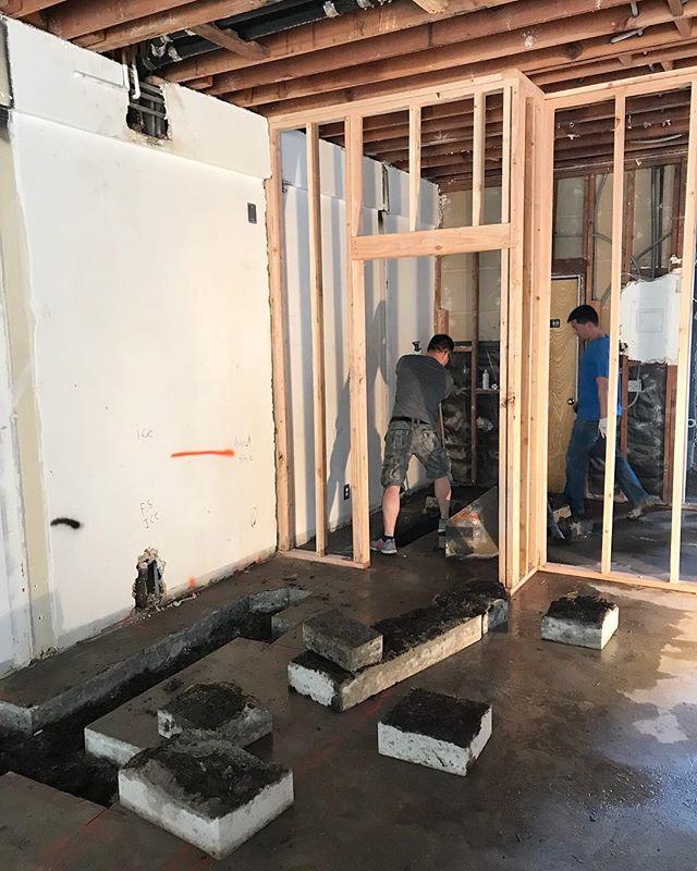 GROUND BREAKING NEWS! WE'RE BREAKING GROUND 😱😱😱 #plumbing #construction #sachilosangeles