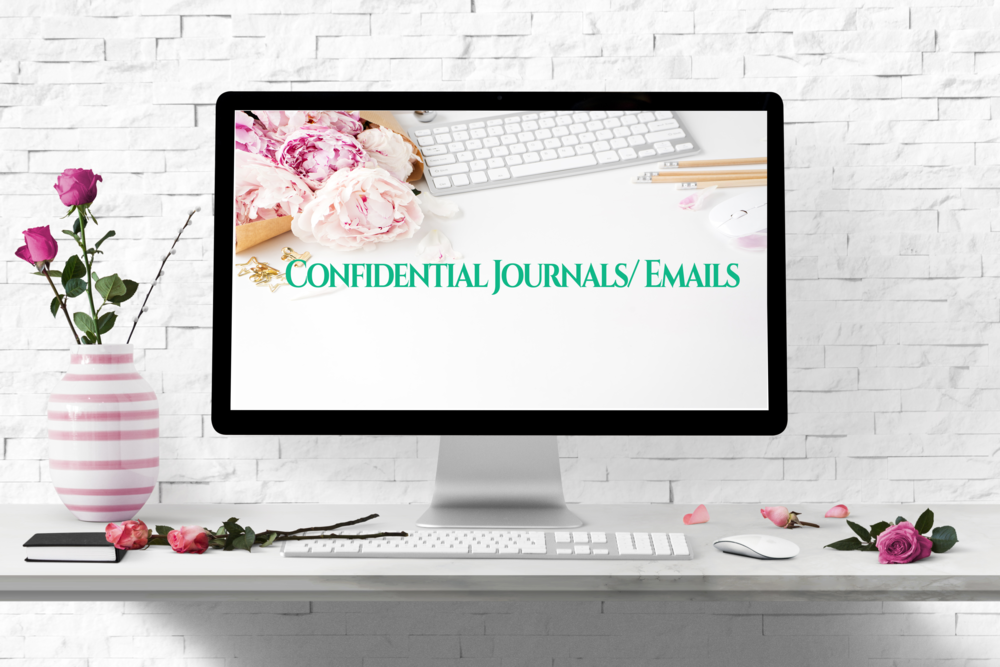 - Not all of us like talking in order to work out our problems, and some of us have such busy schedules that scheduling a coaching session seems impossible! That's why we have journals and/ or email options available. Write an entry into your journal about anything you'd typically say within a therapy session, and I will send you a thoughtful response within 48 hours.