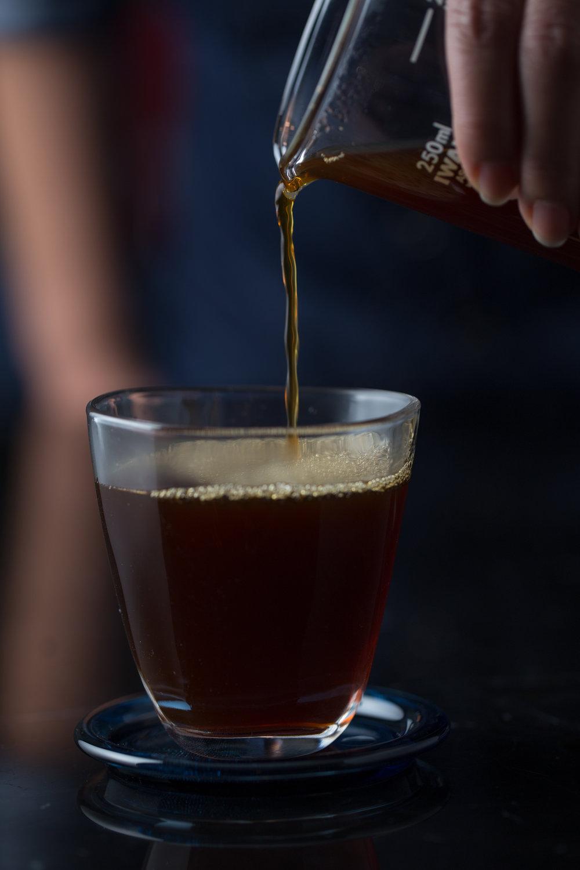 - Single origin cold-brew