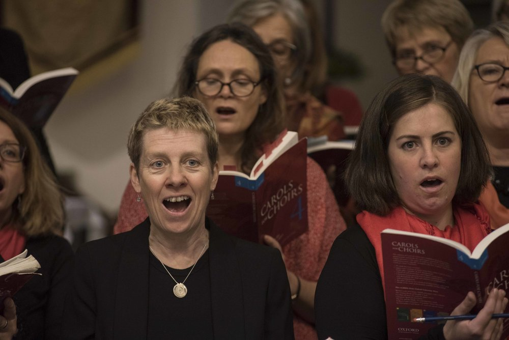 Paddock Singers All women's choir in Lewes