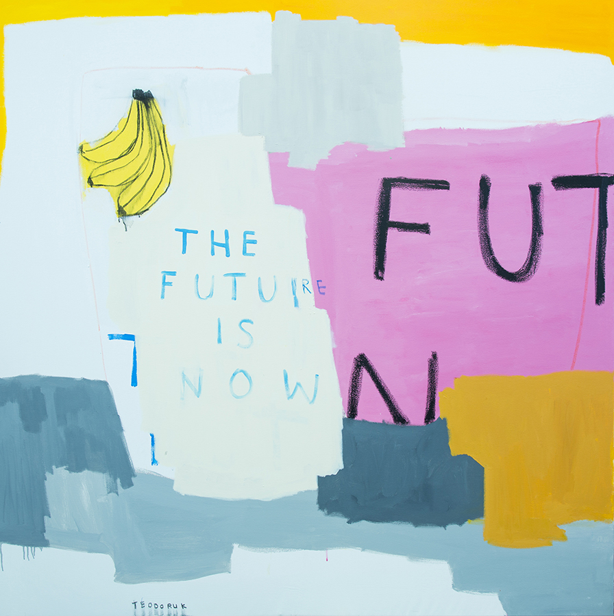The Future Is Now, 2017. Brad Teodoruk. acrylic, charcoal and oil pastel on canvas. 152 x 167cm.jpg