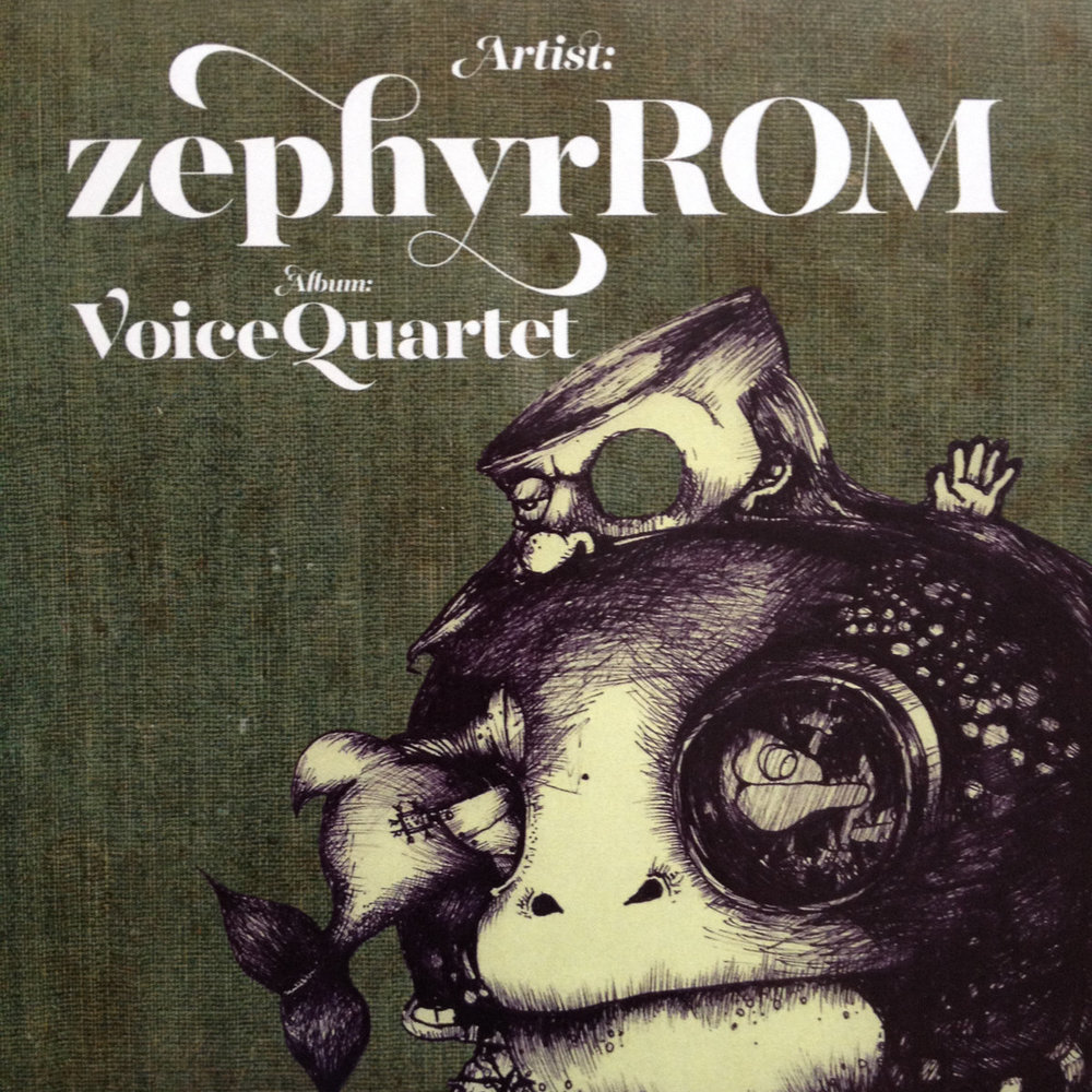 "Zephyr Quartet & voiceROM - ""VoiceQuartet"" [Recorded, Mixed & Mastered (JP)]"