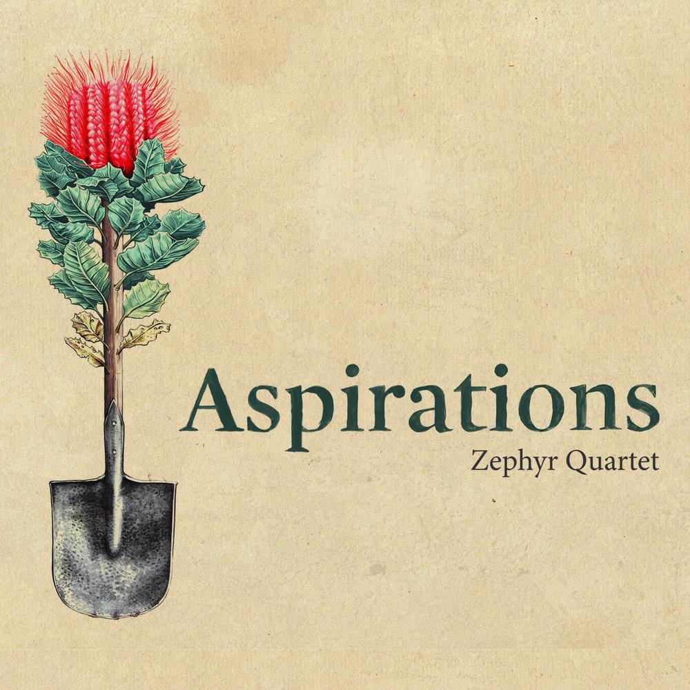 "Zephyr Quartet - ""Aspirations"" [Recorded, Mixed & Mastered (JP)]"