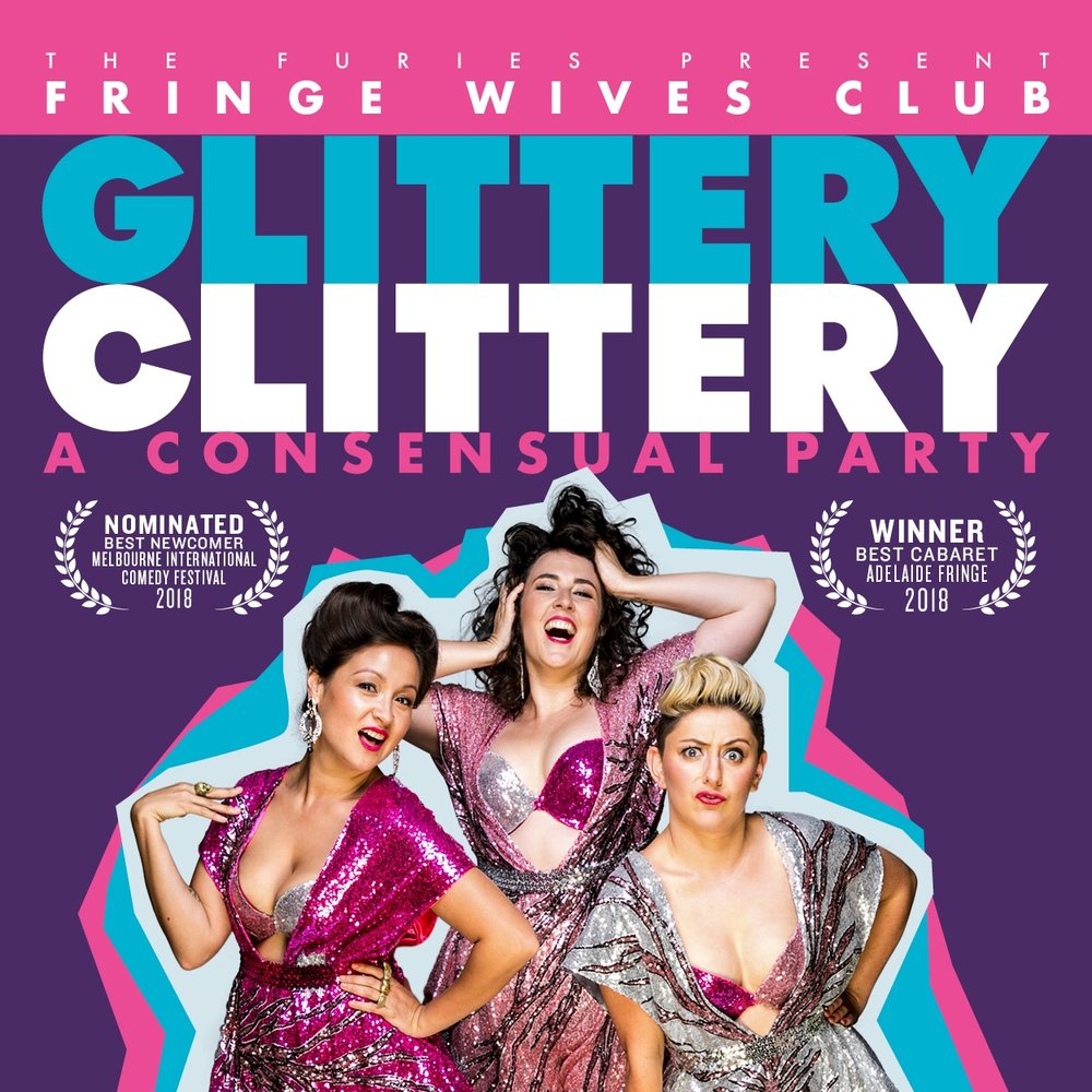 """Fringe Wives Club - """"Glittery Clittery"""" [Recorded (vocals), Mixed & Mastered (JP)]"""
