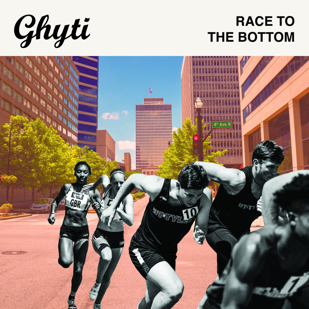 """Ghyti - """"Race to the Bottom"""" [Recorded & Mixed (JP)]"""