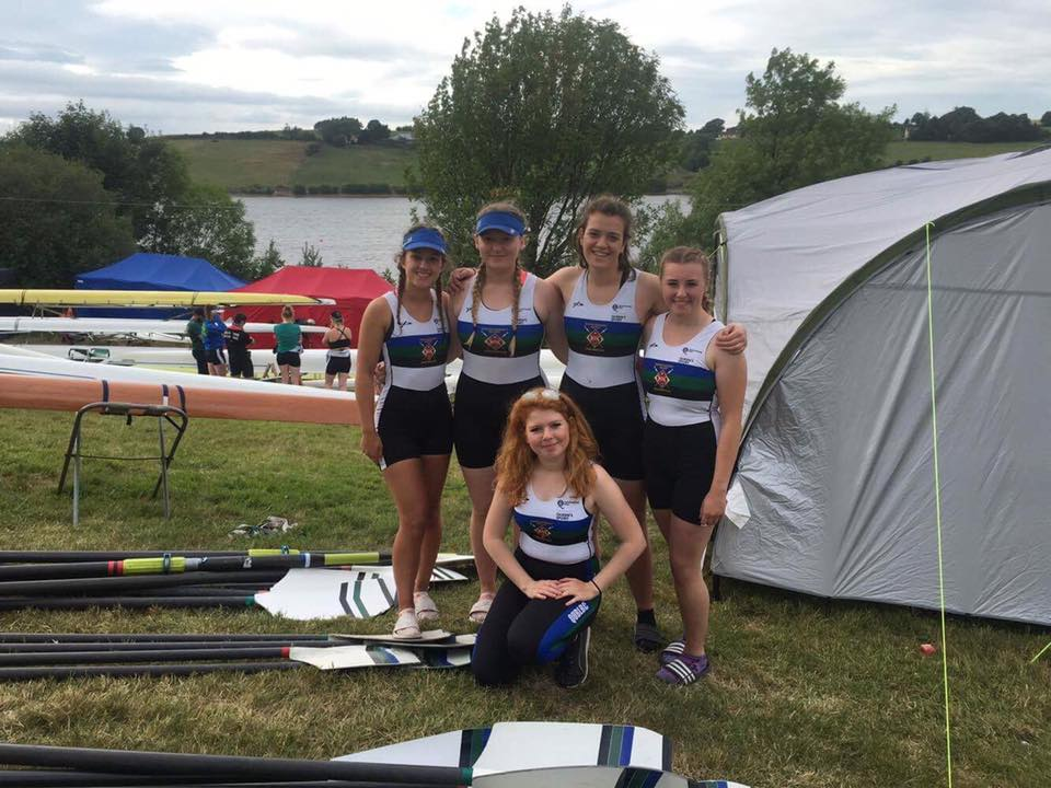 QUBLBC Womens Novice 4X+ Queen's Rowing
