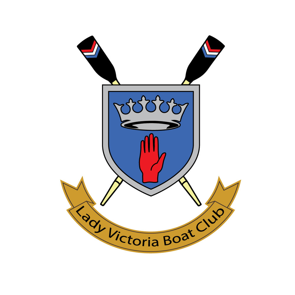 Lady Victoria Boat Club Crest LVBC   Alumni of Queen's Rowing.