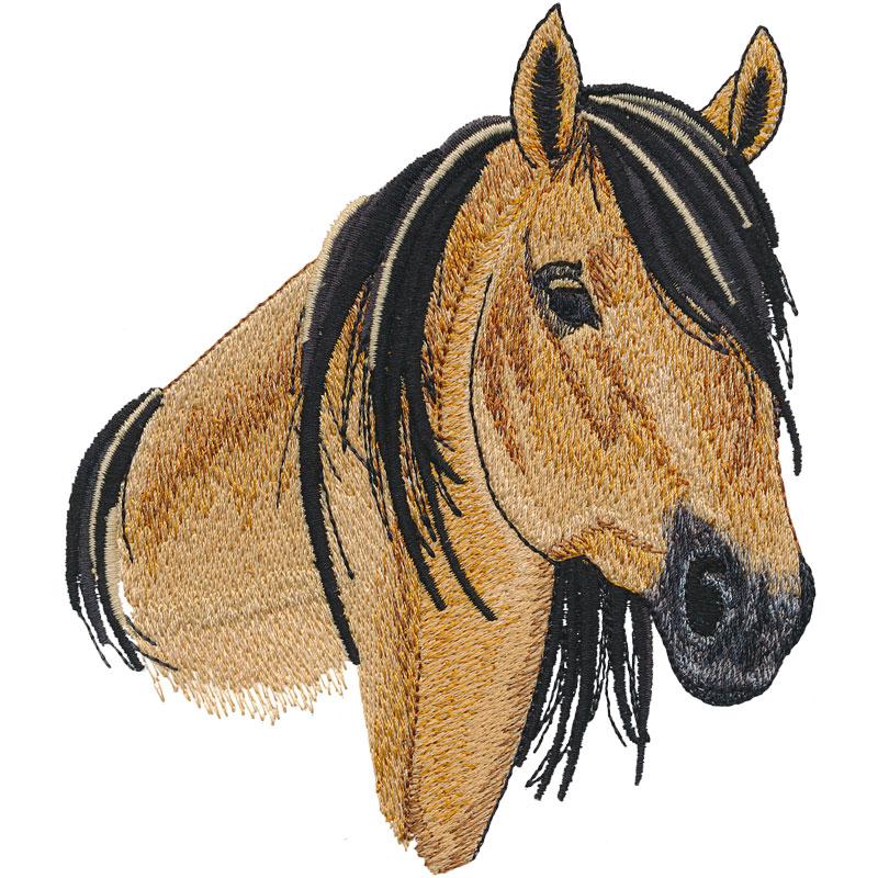 PL02 Mustang Horse Head