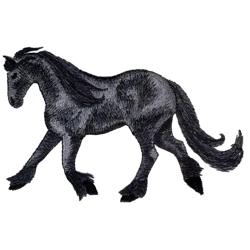 PL12 Fresian Horse
