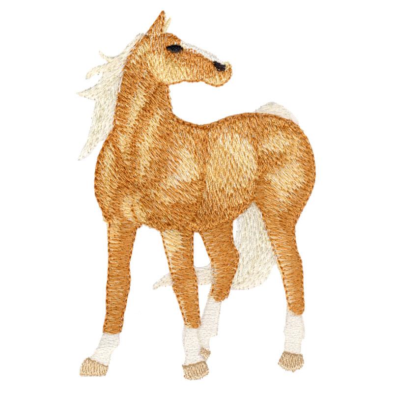 PL16 Palomino Horse