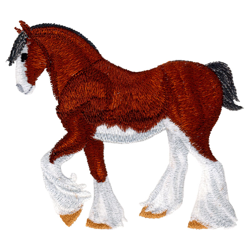 PL20 Clydesdale Horse