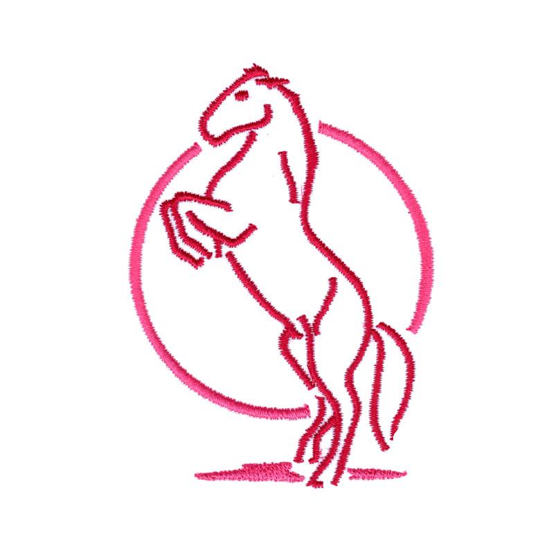 PL26 Rearing Horse