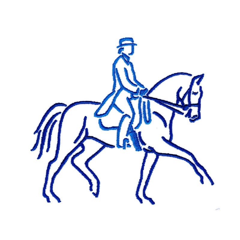PL28 Dressage Horse