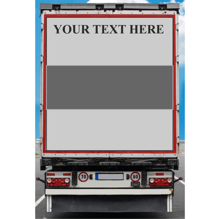 Personalised Horse Lorry & Trailer Lettering