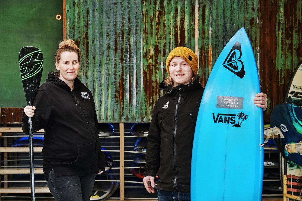 Arctic Surfers