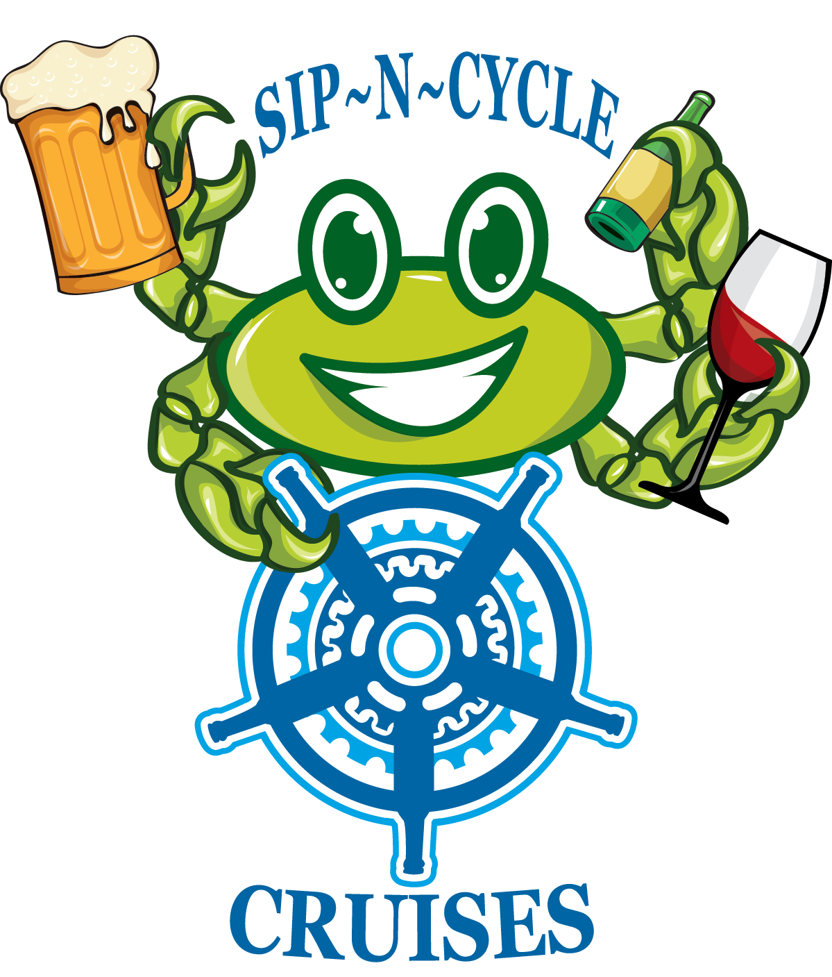 Sip-N-Cycle Cruises