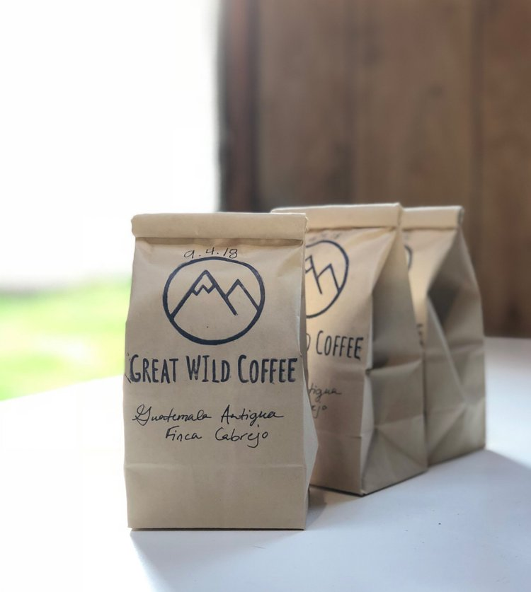 Sustainable Through & Through - We love coffee, but hate the idea of plastic bags in a landfill.To combat this we found a supplier that produces Biodegradable bags that are made in the USA.Our stamp was created by an artist in California. Each bag comes hand stamped and labeled.We want you to enjoy your coffee and leave as little of a footprint as possible.
