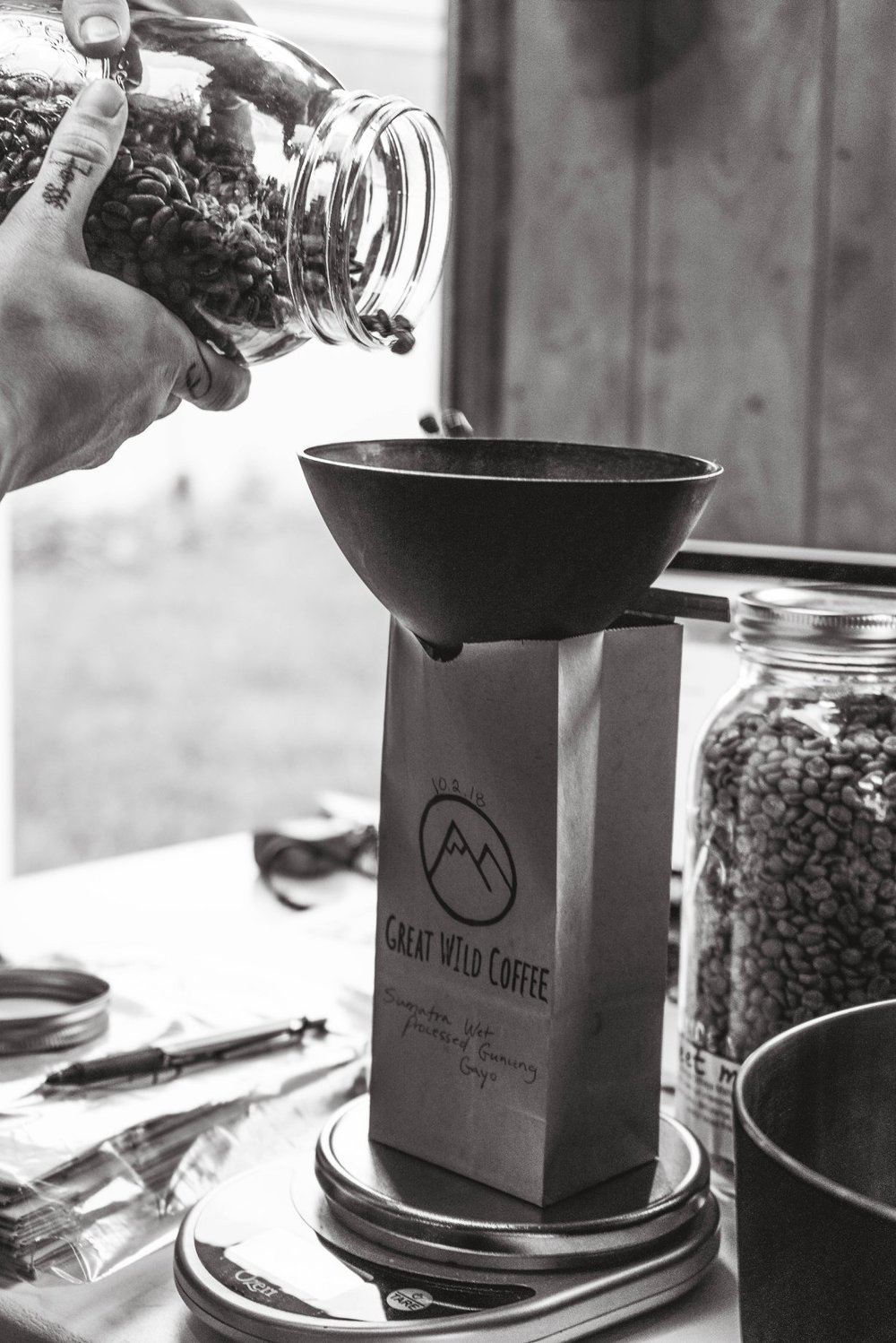 Great Wild's Calling - Our coffee is your coffee.We create roasts that we want to drink every morning.We use beans that are ethically and sustainably grown, harvested and supplied.We work to uphold the quality of each batch to be the best we can possibly supply.We are 100% woman owned and operated.We care about every single cup of coffee you drink; from bean to cup.