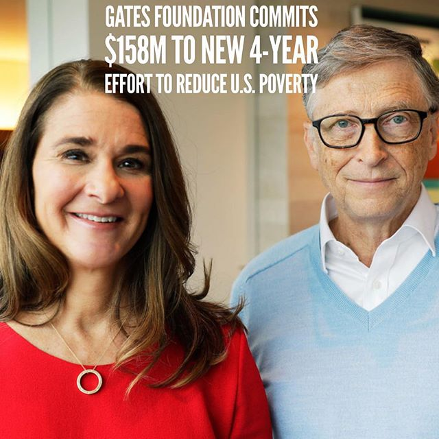 The Bill & Melinda Gates Foundation has announced a pledge of $158 million over four years in support of efforts to increase economic mobility and opportunity across the United States. #upwardmobility #poverty #growth #infrastructure #action #newabolitionism