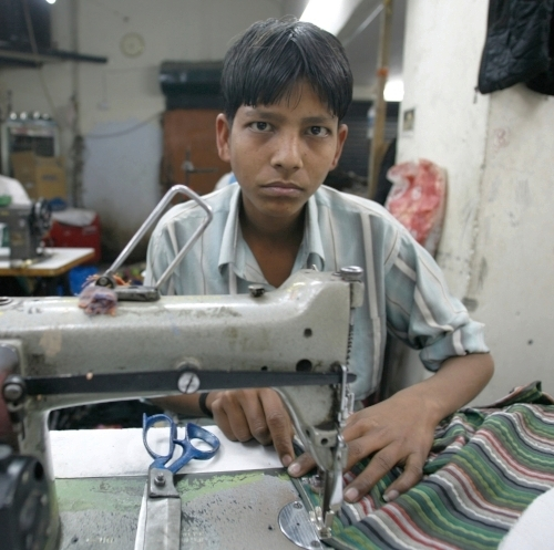 WORKING CONDITIONS  - Most fashion brands produce in developing countries where extreme poverty forces people to accept inhumane working conditions.