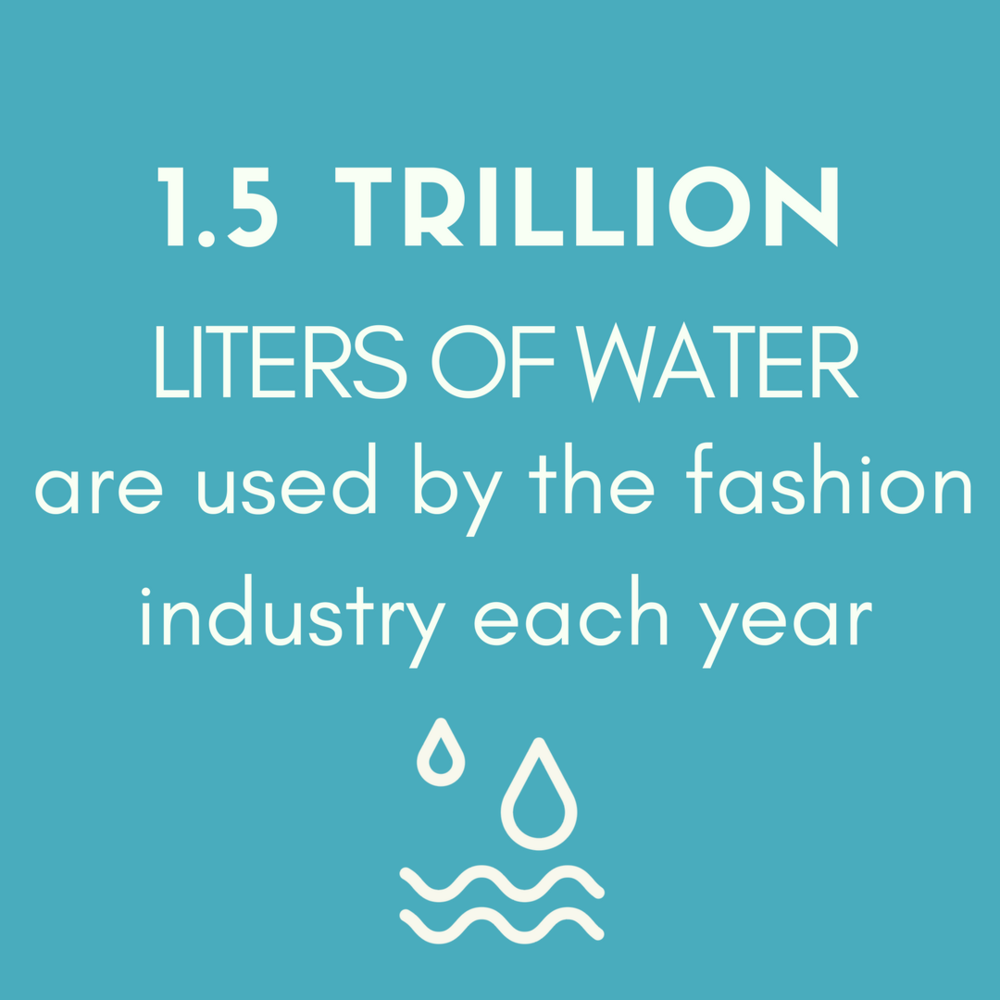 FASHION & WATER CONSUMPTION