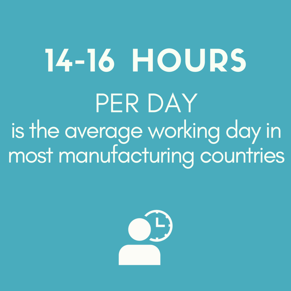 working hours in the fashion industry