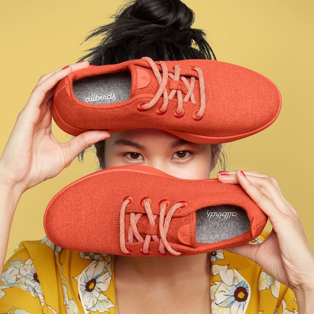 Allbirds - Made in sustainable and natural material.Based In: USPrice Range: €Shipping: Free shipping, returns and exchanges in the US, New Zealand and Australia.Webpage: www.allbirds.com
