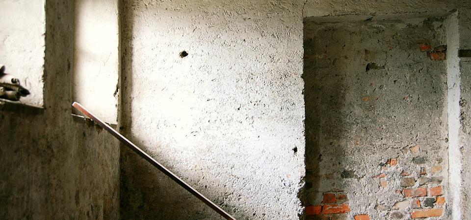 Praznenje prostora za delavnico / 2011