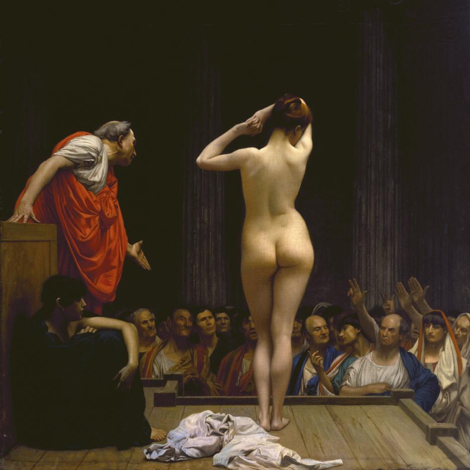 The roman slave market - Jean Leon Gerome_square.jpg