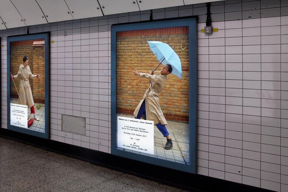 Théâtre de l'ordinaire: Carte Blanche Show. Promotional Material. London. 2017