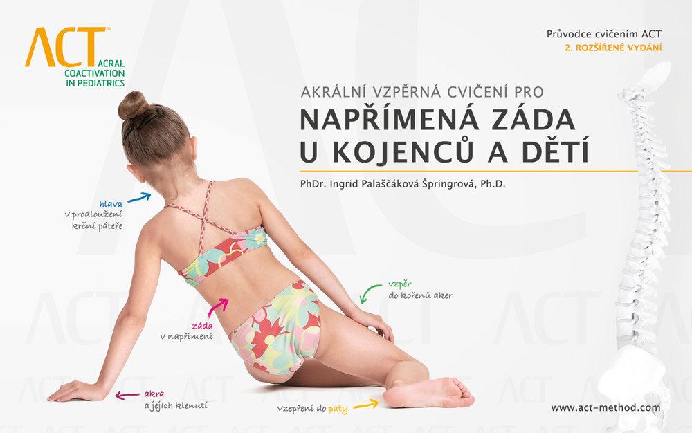 Akrální vzpěrná cvičení pro NAPŘÍMENÁ ZÁDA U KOJENCŮ A DĚTÍ - PhDr. Ingrid P. Špringrová Ph.D.Metóda Akrální koaktivační terapie je ideálnym nástrojom pre úpravu chybných pohybových vzorov u detí a táto publikácia Vás tiež provedie motorickým vývojom u kojencov.Pomocou vzopretia do rúk a nôh (akier končatín), rozvíja metóda ACT motorické schopnosti u kojencov a učí rodičov, ako s nimi správne manipulovať.Cena publikácie: 11,00€ s DPHObjednať →