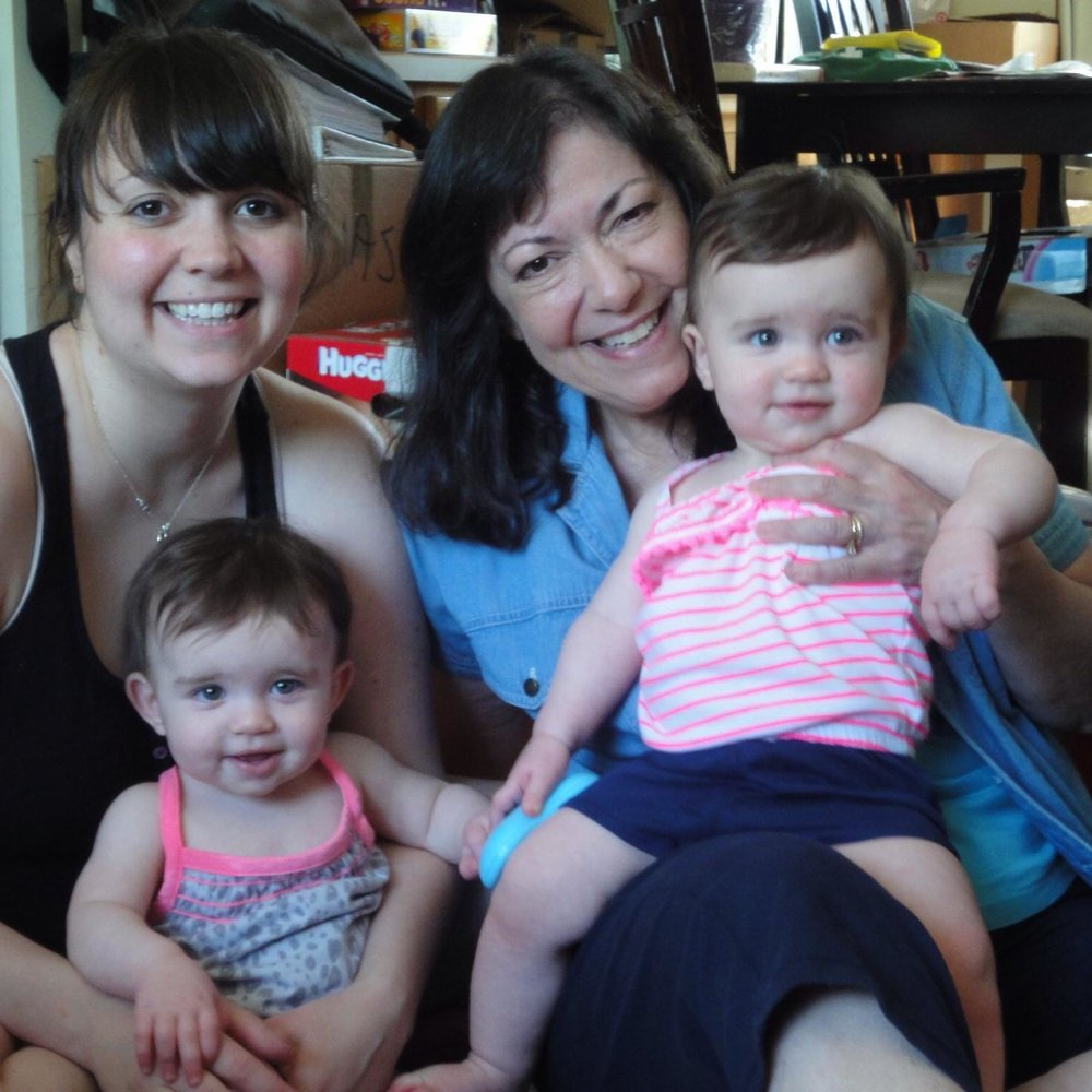 Me, MY mother, and my daughters 3 Years Ago