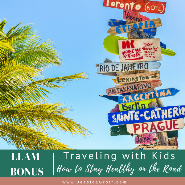 healthy travel with kids