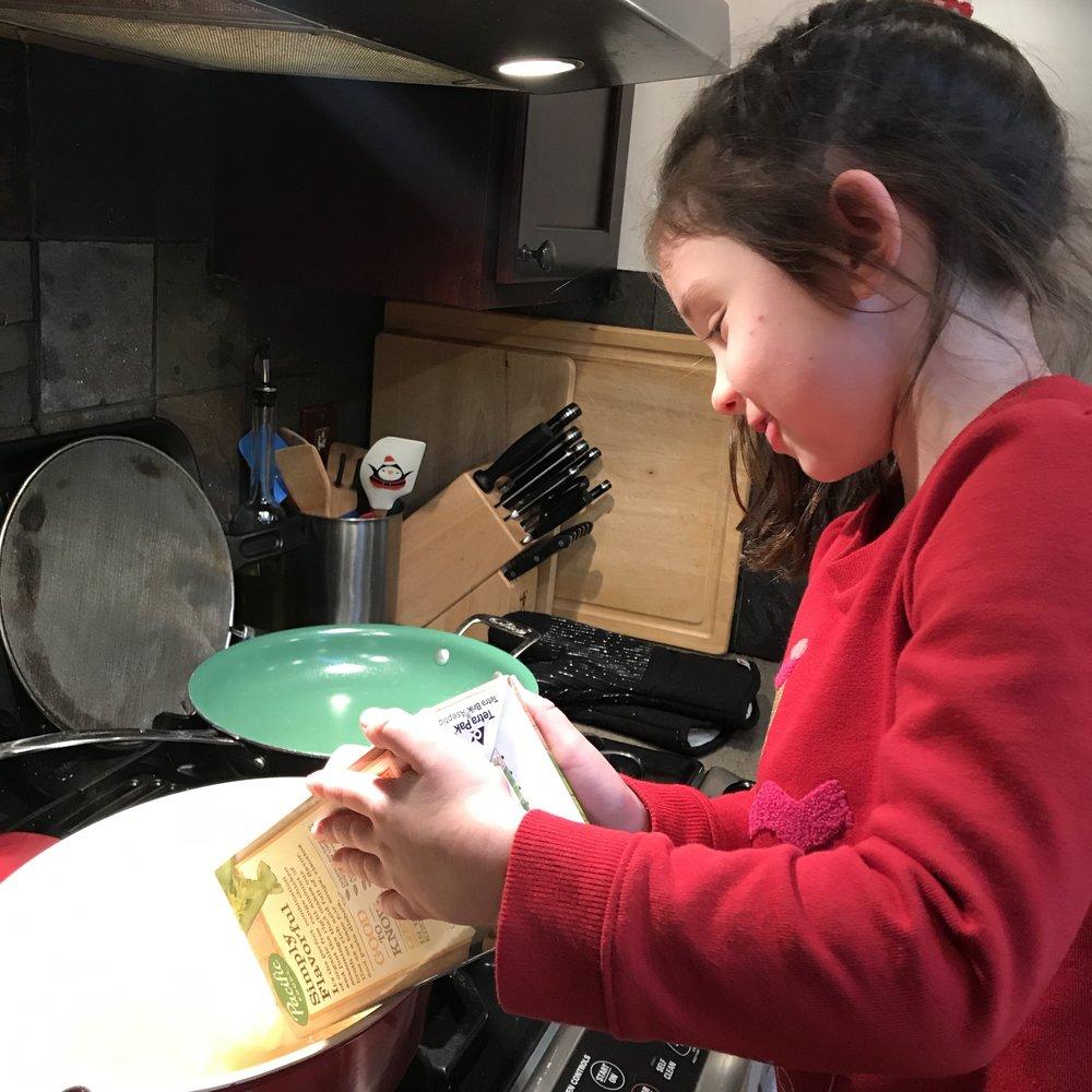 Jane making CNS