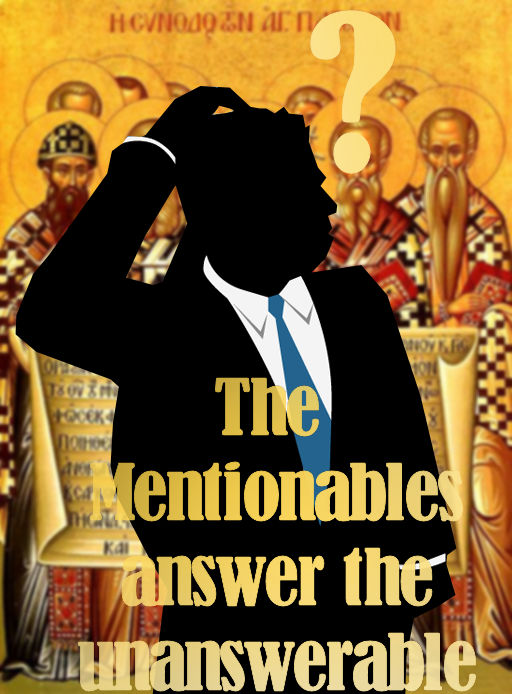 "The Mentionables  answer  the article:  ""Top 50 Questions Christians Can't Answer"""