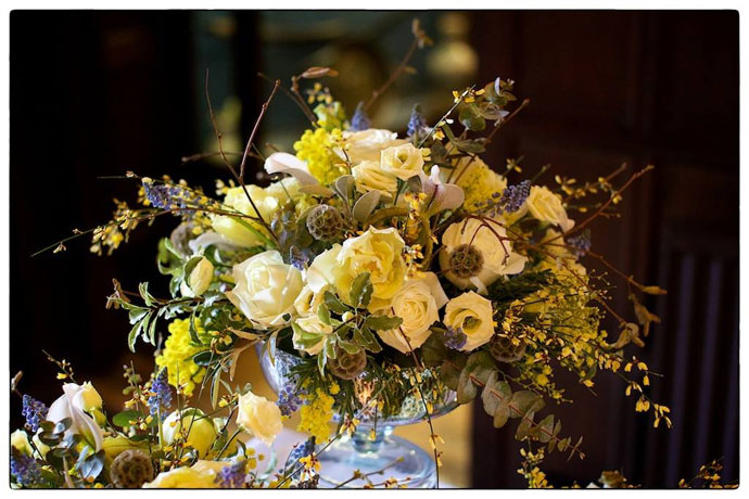 Ramster Hall Spring Wedding