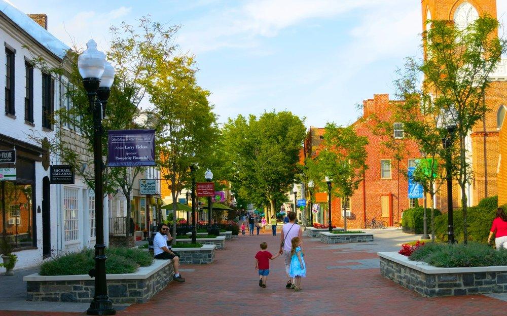 Loudoun Street Pedestrian Mall, Winchester, Virginia