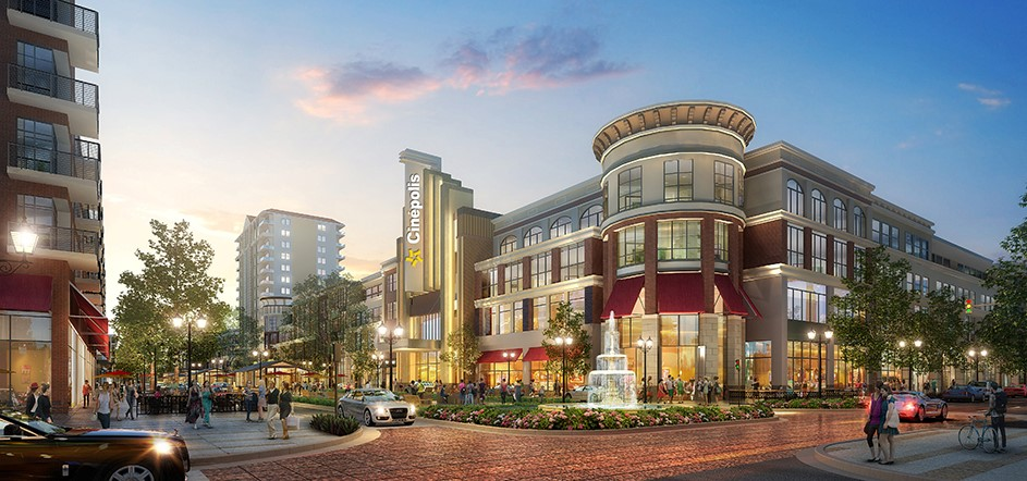 Dallas Midtown has transformed the former Valley View Mall into mixed use destination