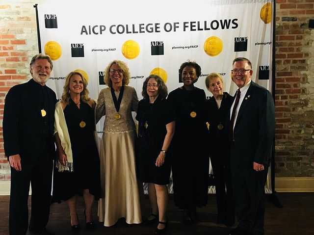 Honored to be inducted into the AICP College of Fellows with my fellow California Planners, and other great Planners across the country. #NPC18 #NOLA #CommunityPlanning
