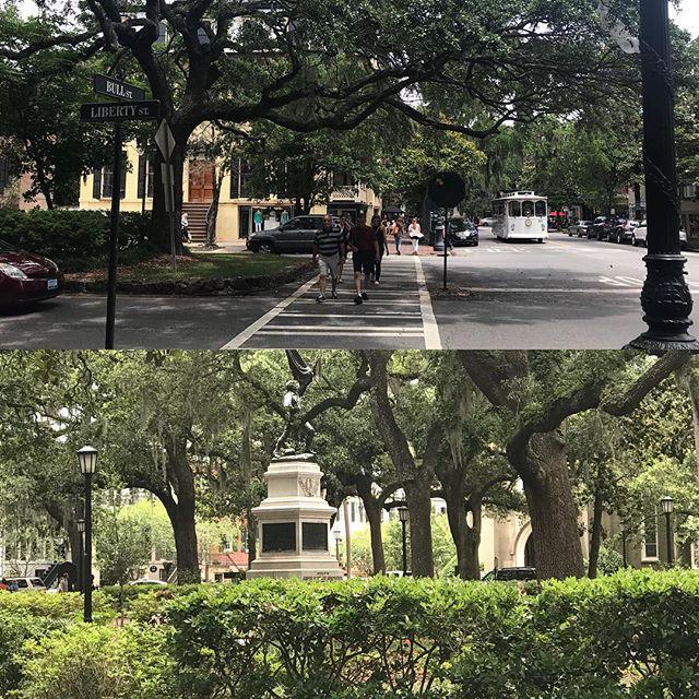 No shortage of amazing scenes here in Savannah. So beautiful! #cnu #savannah #cnu26savannah