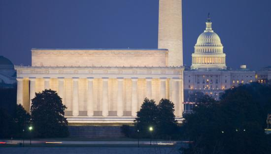 Washington, DC three monuments, Shutterstock_3058296.jpg