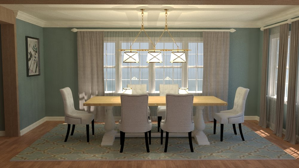 Dining Rooms — Designs Rendered, LLC
