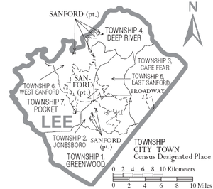300px-Map_of_Lee_County_North_Carolina_With_Municipal_and_Township_Labels.png