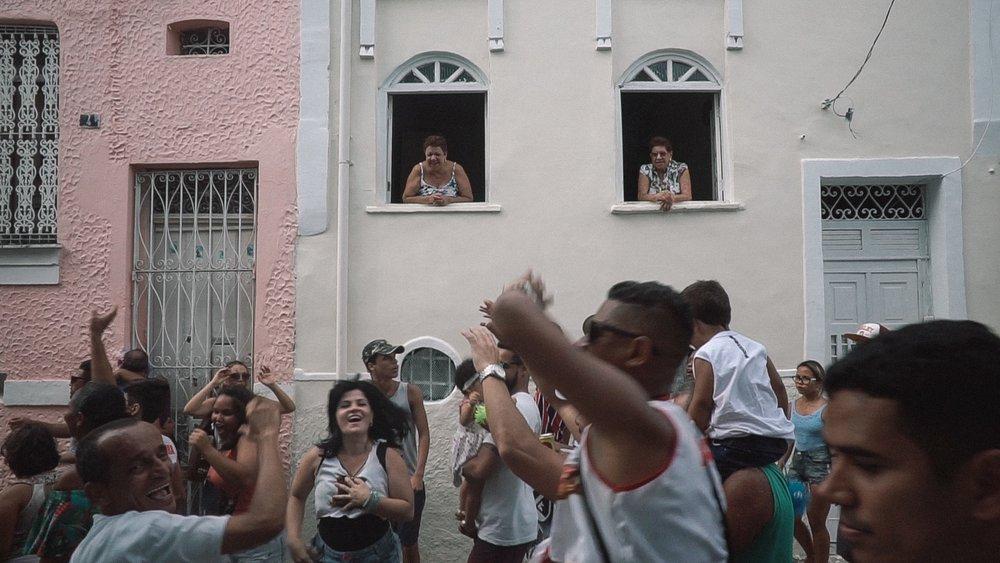 Carnival rehearsal in Salvador de Bahia