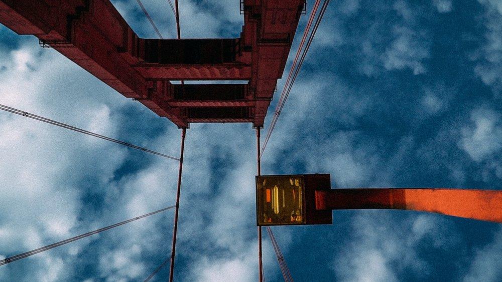 Le Golden Bridge de San Francisco // Oldyssey