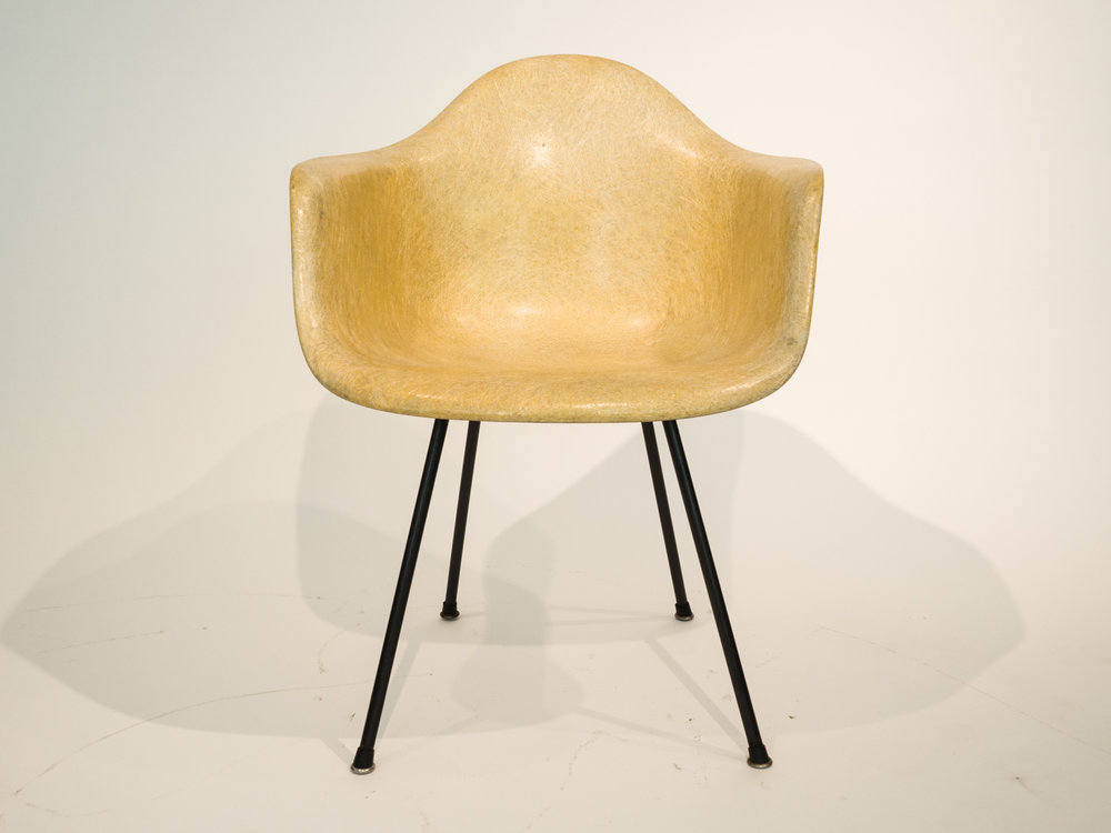 Charles And Ray Eames Fiberglass Chair